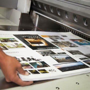 Volantini, flyers, brochures, cataloghi e manifesti, assistenza grafica