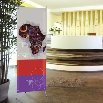 Roll up personalizzati – Espositori porta banner – Kakemono